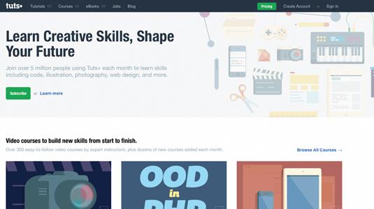 Online coding course: Tuts+