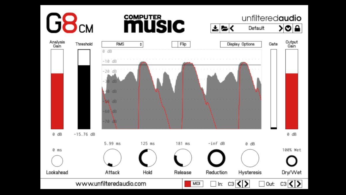 Unfiltered Audio G8 Cm Free Vst Au Noise Gate Plugin