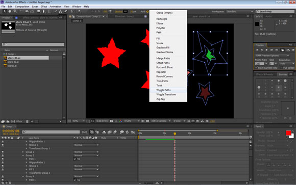 Create shapes from Vector Layers in After Effects CS6