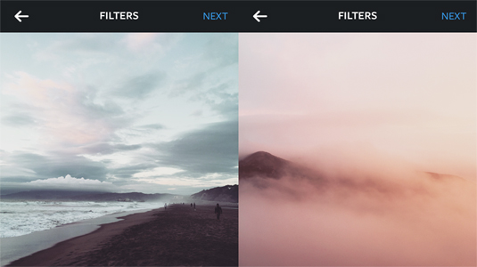 new Instagram filters