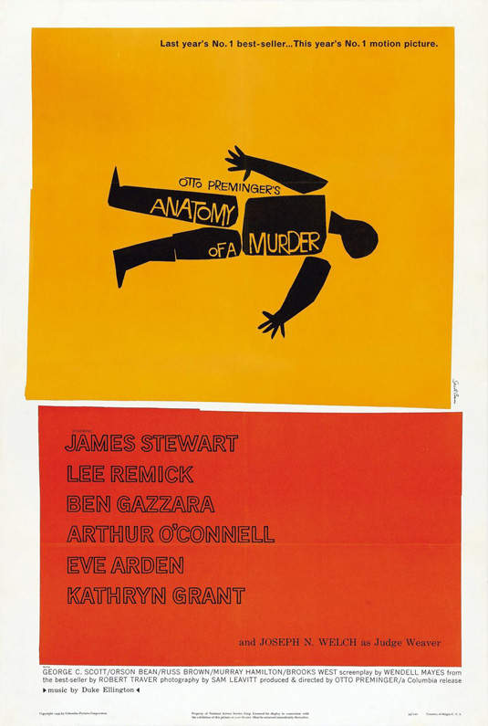 Movie posters: Anatomy of a Murder
