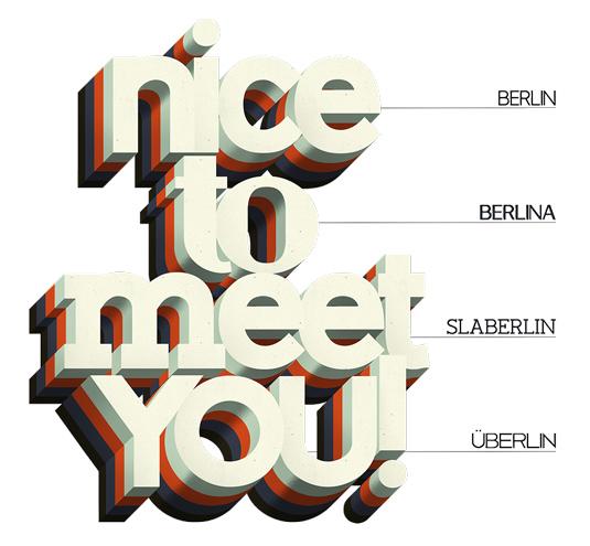 Free font: Berlin