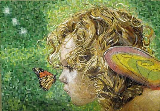 Mosaic art - Atsuko Laskaris