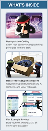 Learn PHP programming from the start with Kevin Yank's book