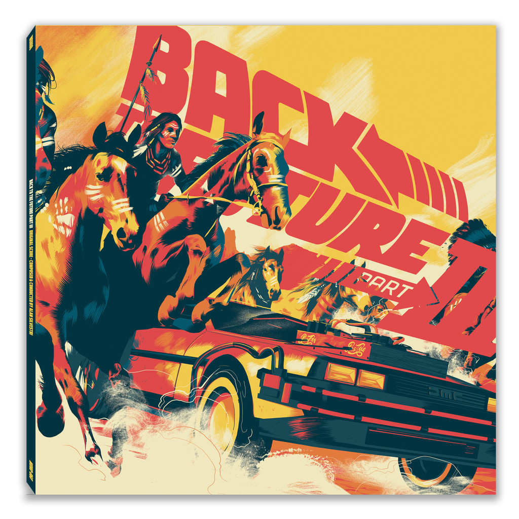 Back to the Future album artwork