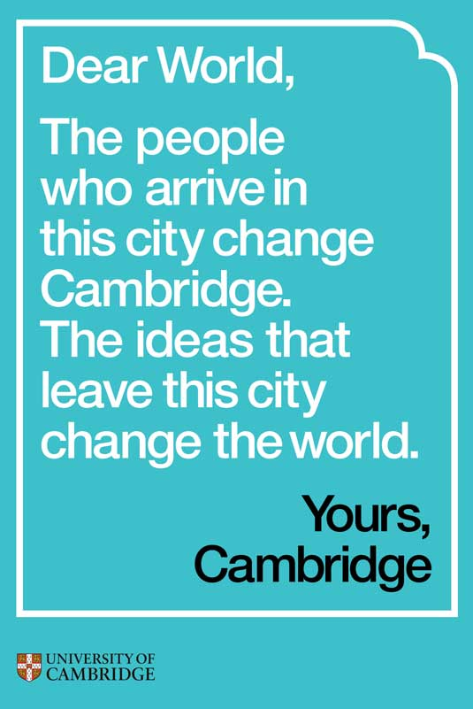 branding for Cambridge University