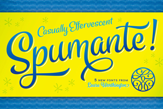 Font of the day: Spumante