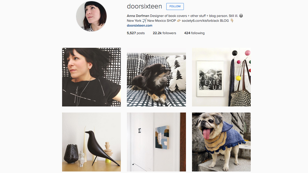 Graphic designers to follow on Instagram: Anna Dorfman