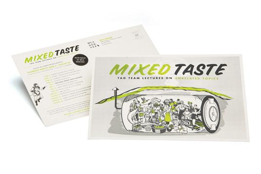 Flyer design: Mixed Taste