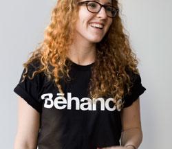 Sarah Rapp, head community manager at Behance
