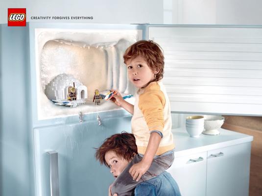 February 2014 print ads: Lego