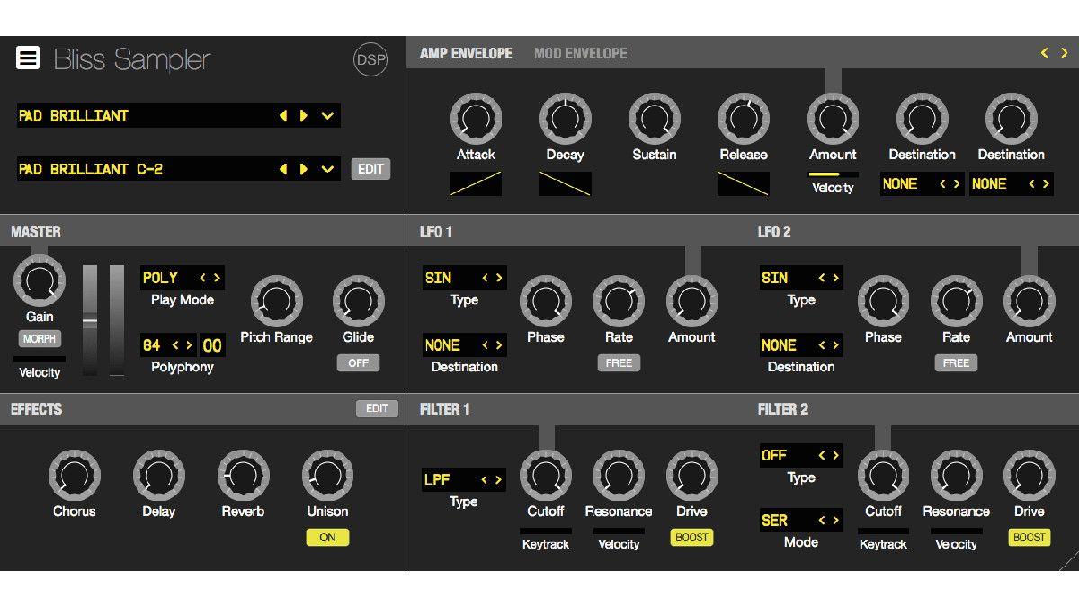 sample your vst plugin synths with discodsp bliss musicradar. Black Bedroom Furniture Sets. Home Design Ideas