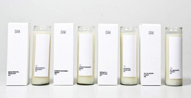 Candles by Oak NYC