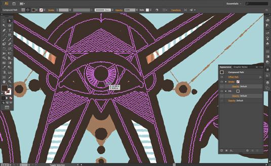 Adobe Illustrator for beginners: Appearance panel