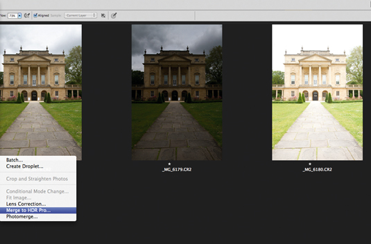 Photo editing: create an outdoor HDR image 1