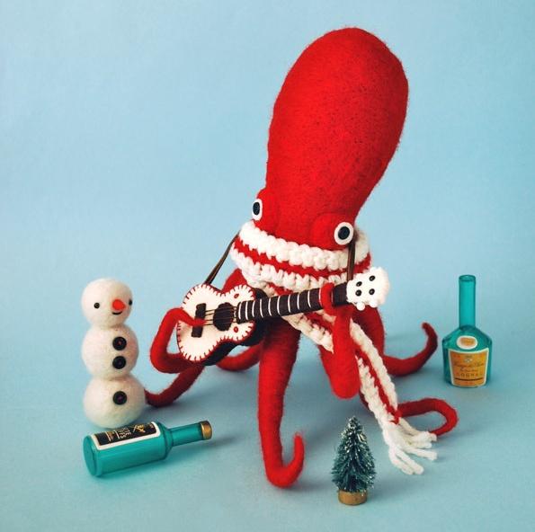 Hine Mizushima - Dress-Up Squid & Octopus
