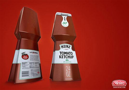 Heinz packaging redesign
