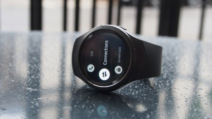 Samsung Gear S2 Settings Page