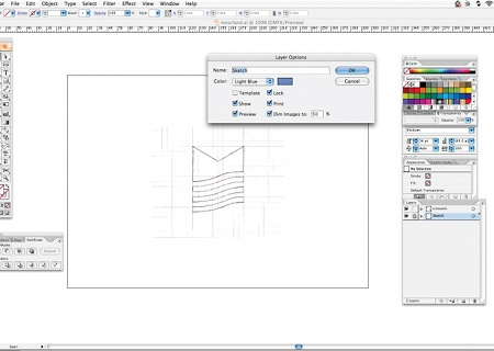 sketch layers window