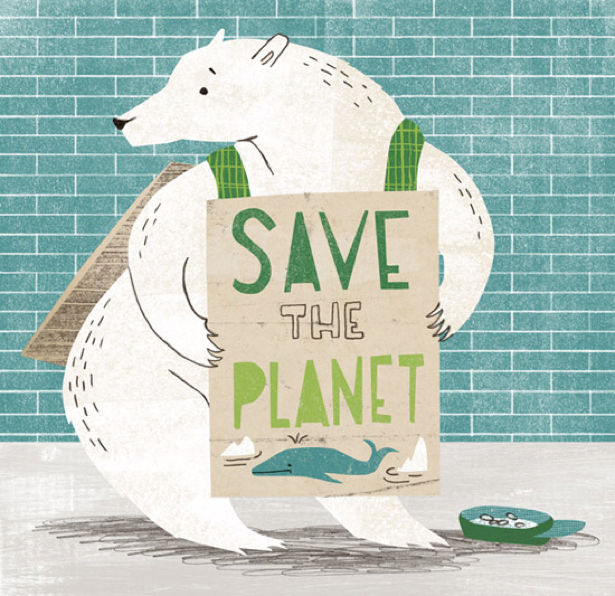 Image of the day: Save the Planet by Angela Keoghan ...