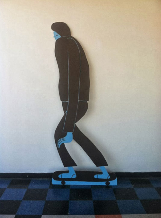 Nathaniel Russell wooden cut-outs