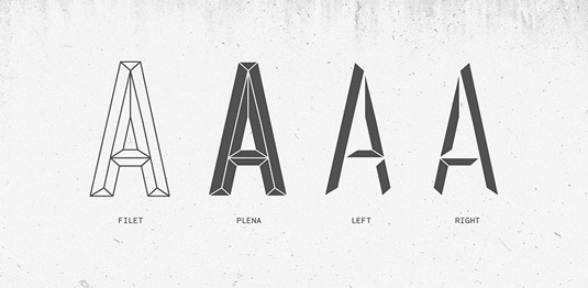 Optilus font