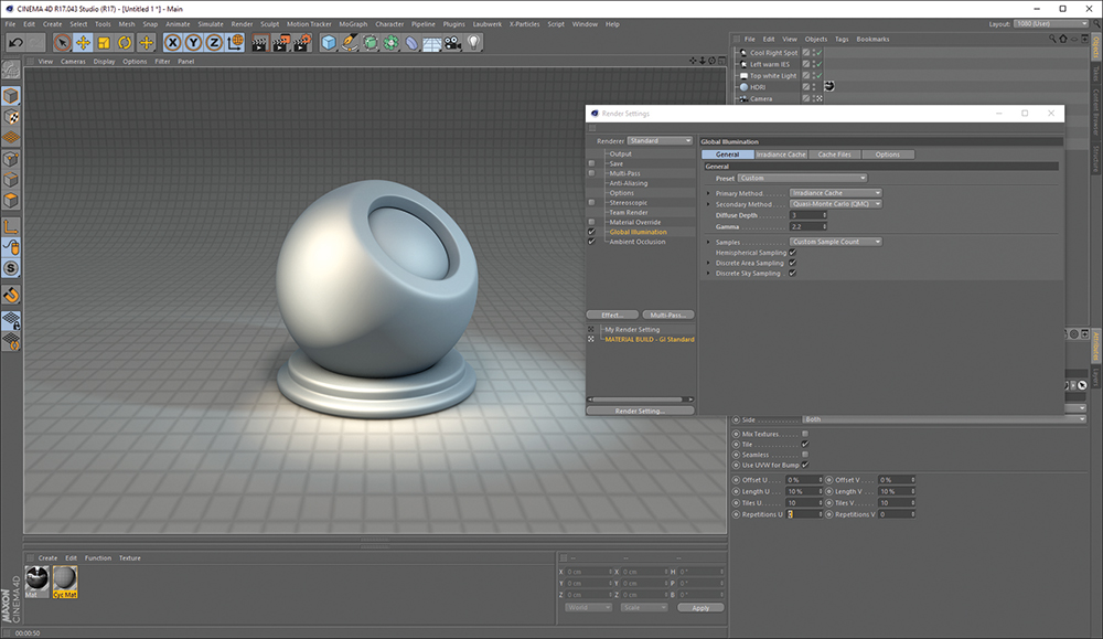 How to create convincing 3D materials