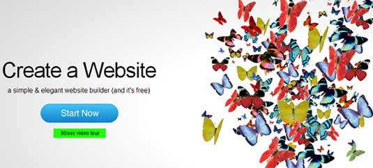 Website builder: IM Creator