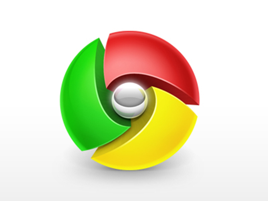 Matthew Daniels Google Chrome logo redesign