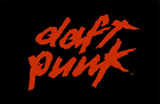 35 beautiful band logo designs - Daft Punk