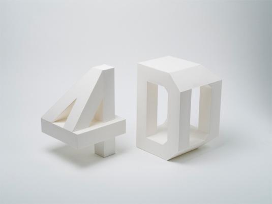 4d fonts