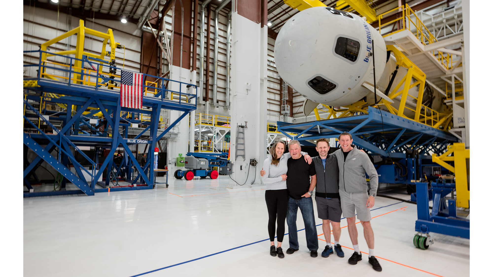 Blue Origin's New Shepard rocket 'go' to launch William Shatner and crew to space thumbnail