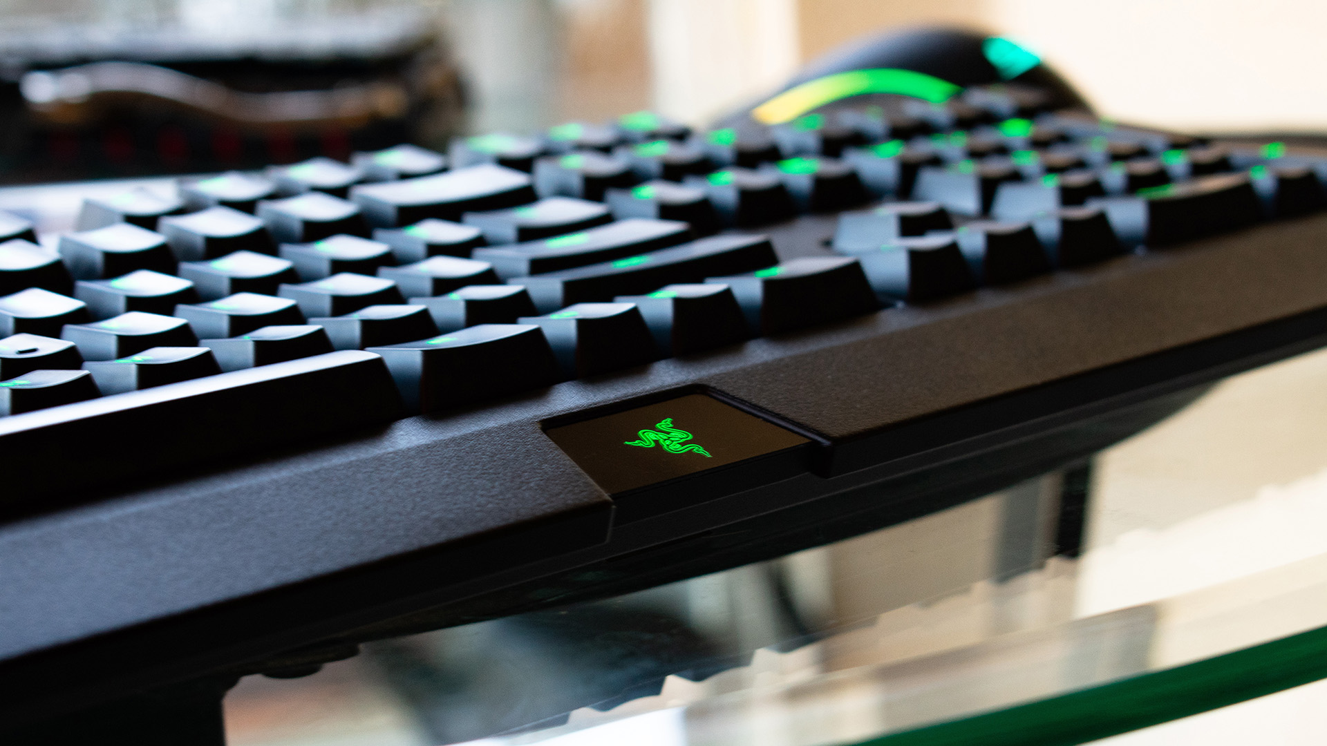dd83ce6bcfa We get that not every keyboard out there needs RGB lighting and you can set  some pretty dazzling effects with its green LEDs, but Razer ...