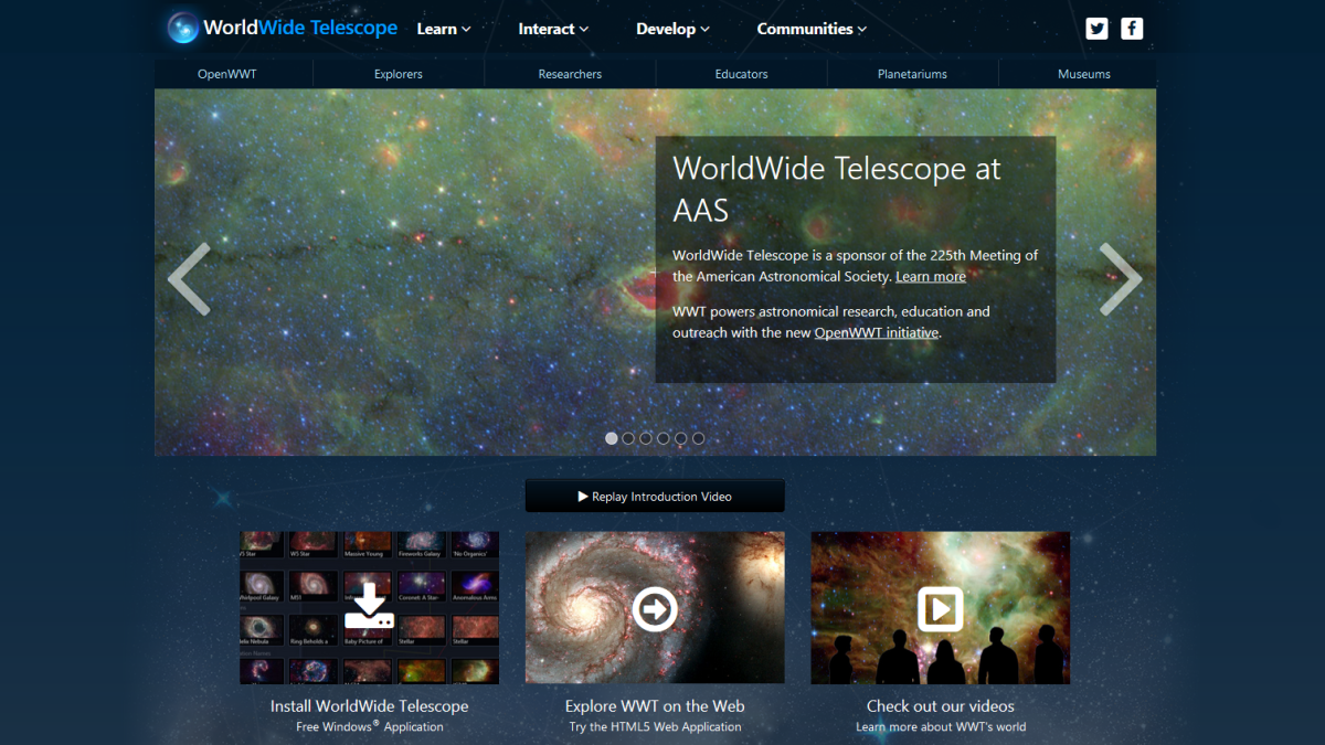 Download of the Day: Microsoft Worldwide Telescope