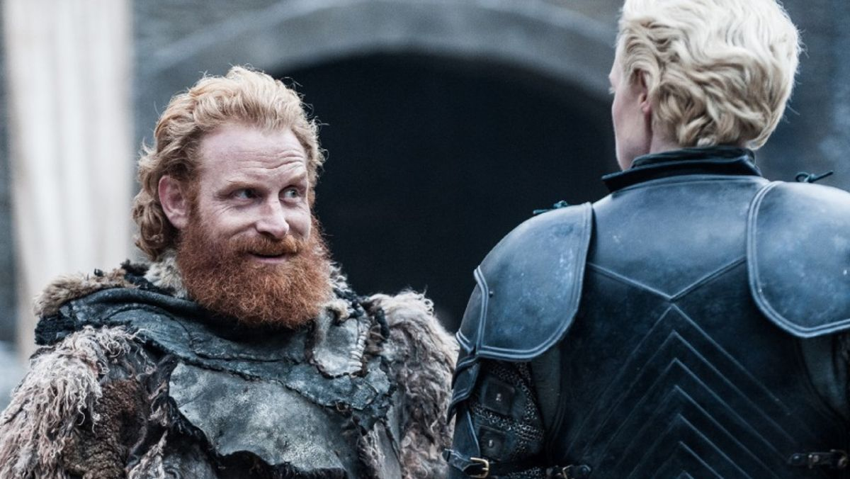 Watch Tormund flirt with Brienne in these new Game of Thrones season 7 images