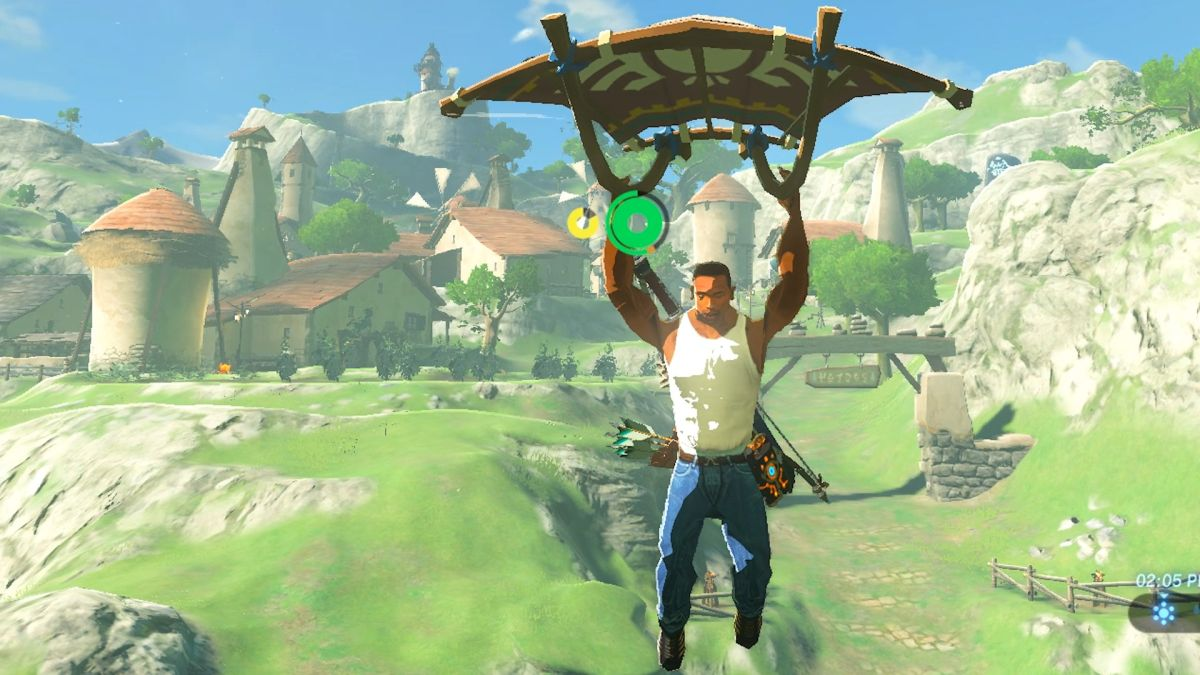 Modders Have Put Gta S Cj And The Witcher S Geralt Into