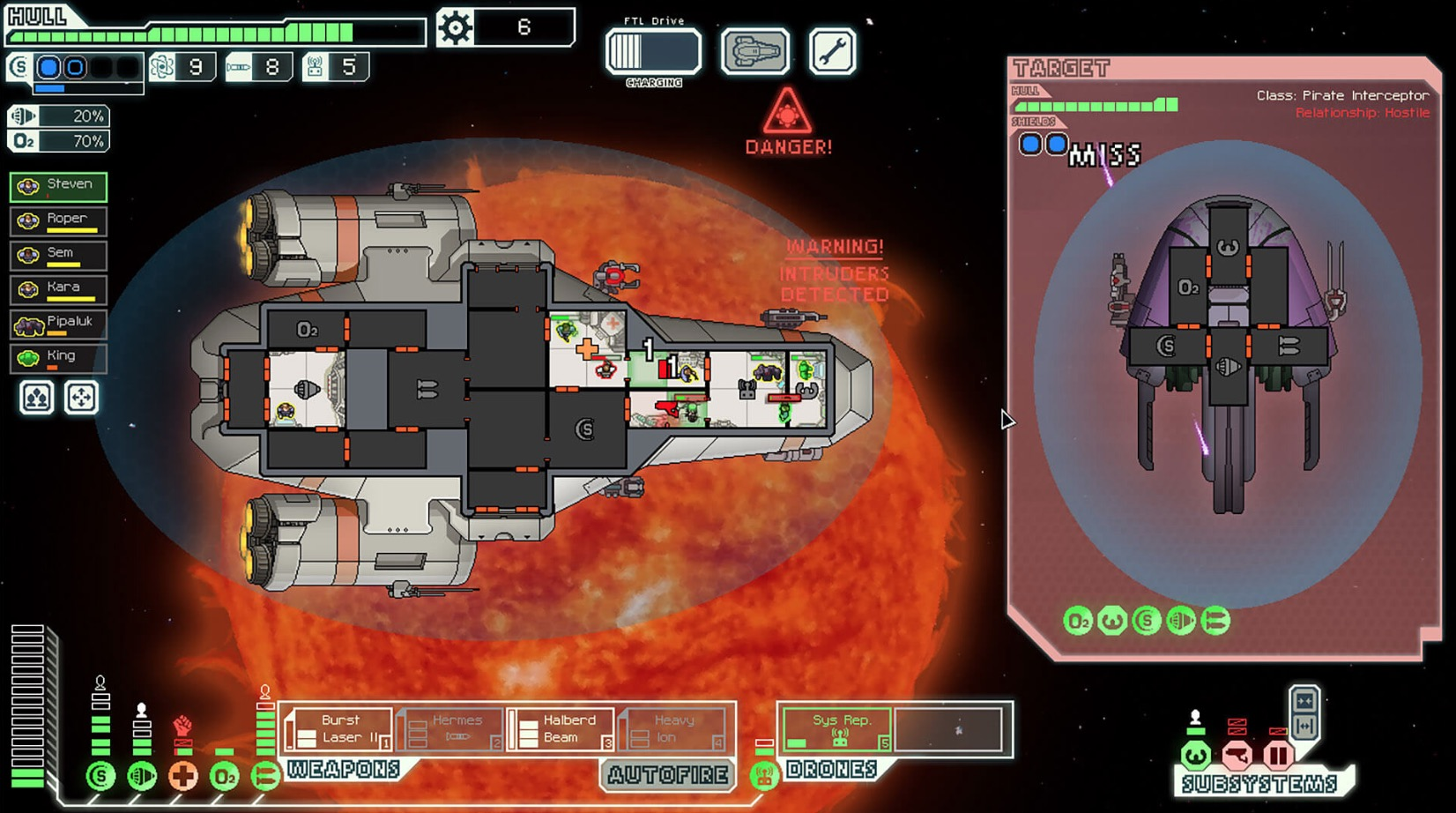 Epic Games Store offering the superb FTL: Faster Than Light for free today