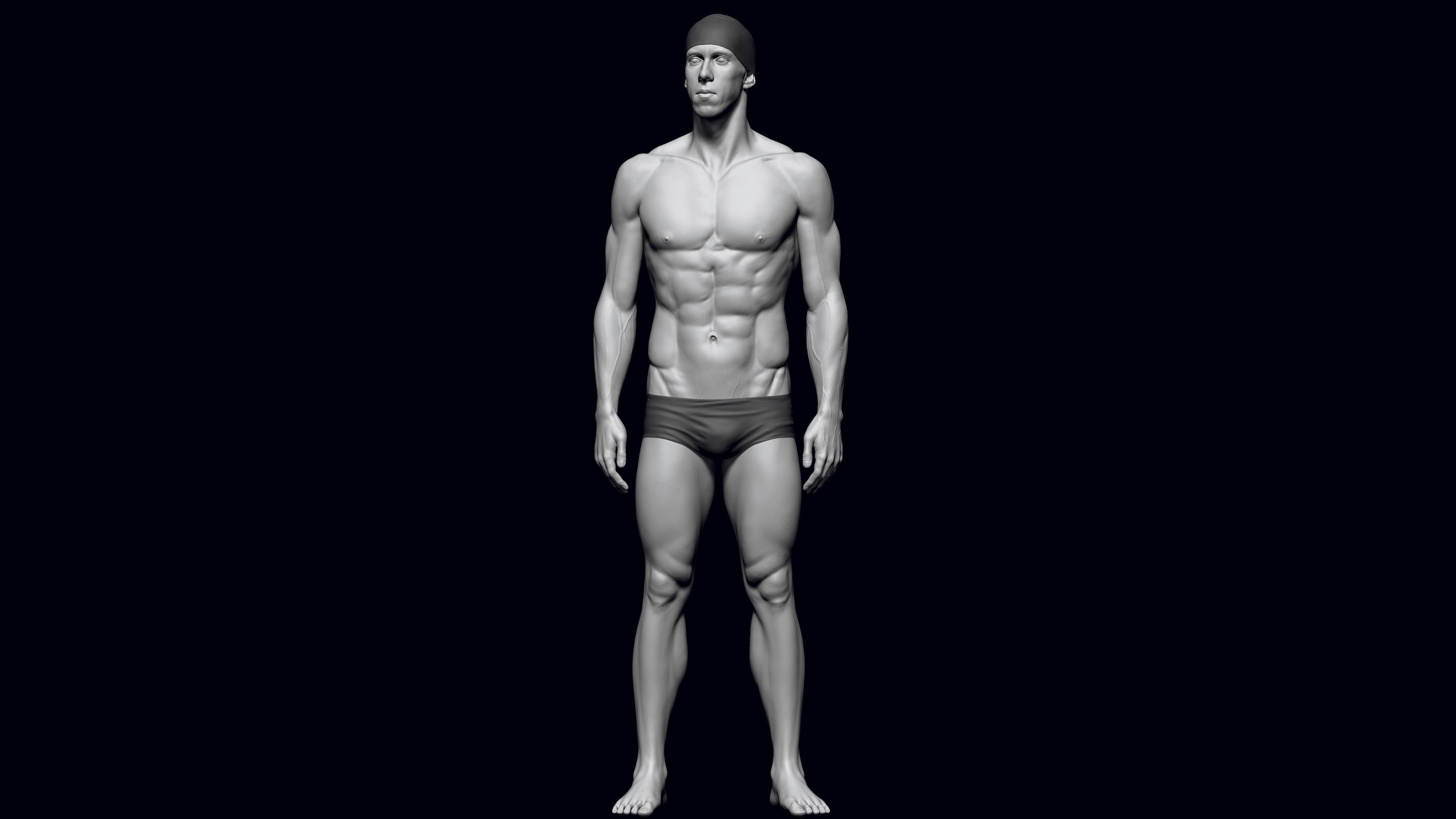 Sculpt realistic anatomy in ZBrush – Graphic Design   Digital Marketing
