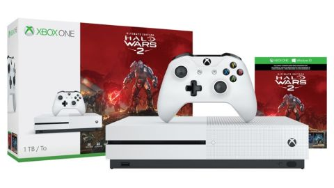 quick the halo wars 2 1tb xbox one s bundle has dropped to in the uk gamesradar. Black Bedroom Furniture Sets. Home Design Ideas