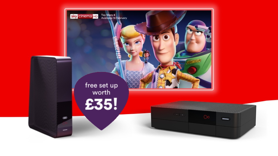 Virgin broadband deals now come with no upfront costs...unlike fibre from BT or Sky
