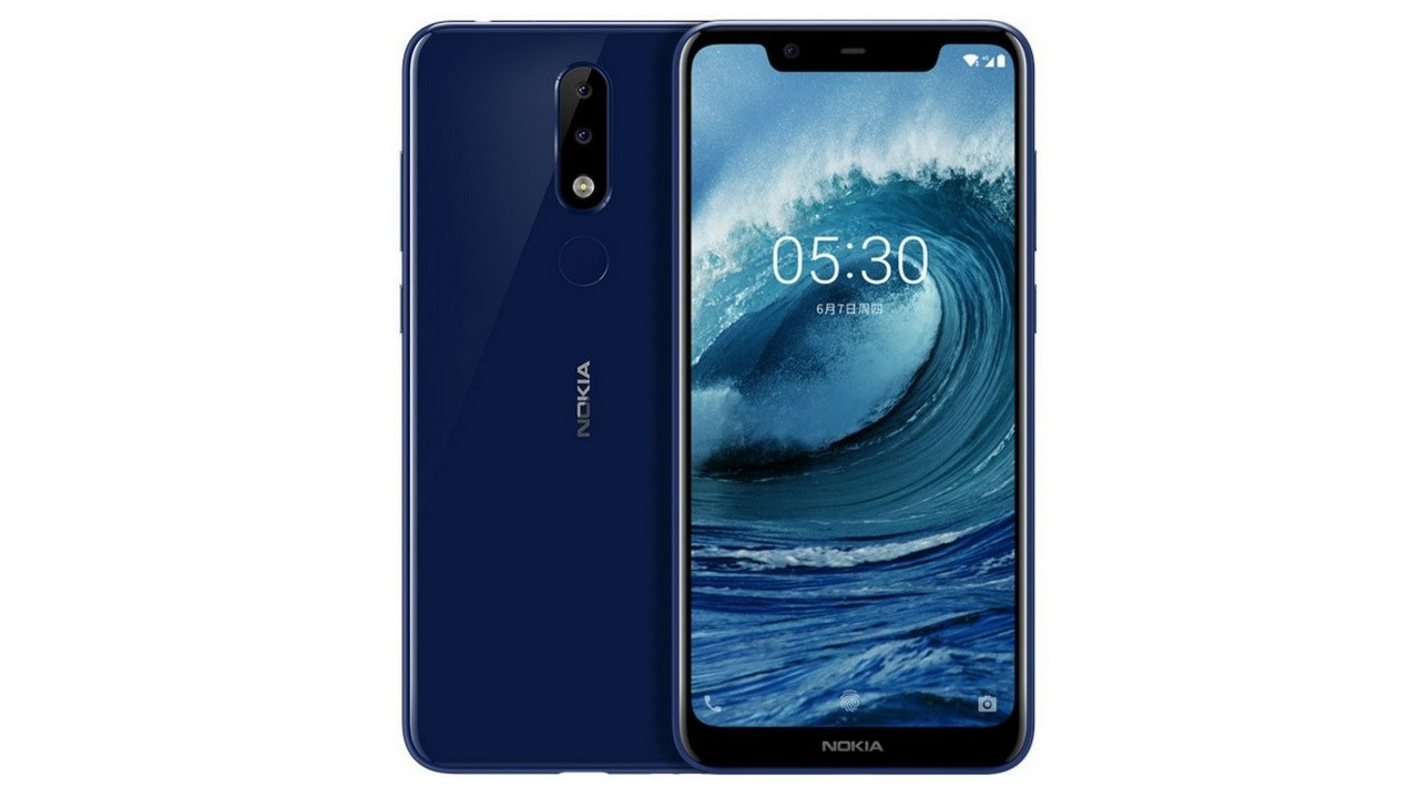 Nokia X5 launched with dual rear cameras, notch display