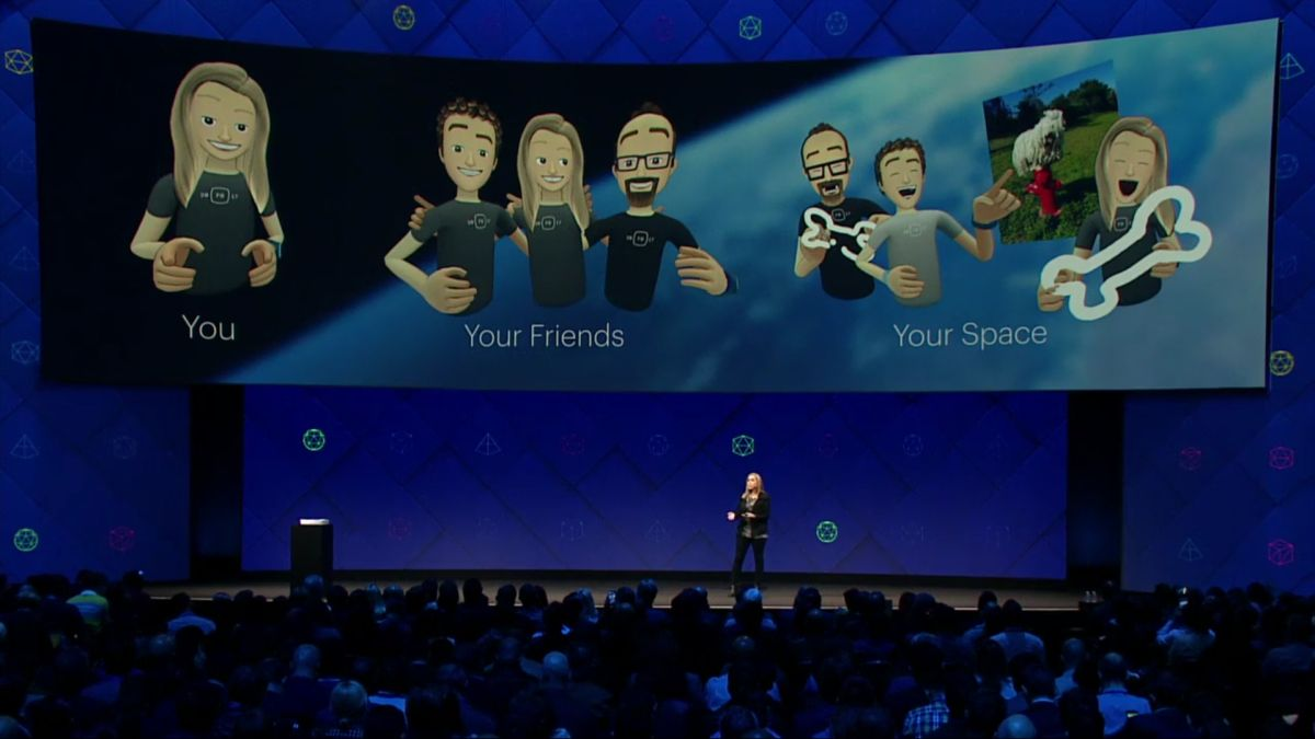 Facebook Spaces lets you and your friends hang out in VR