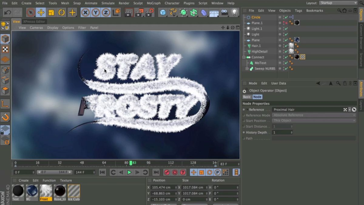 Cinema 4D tutorials 32 projects to up your 3D skills