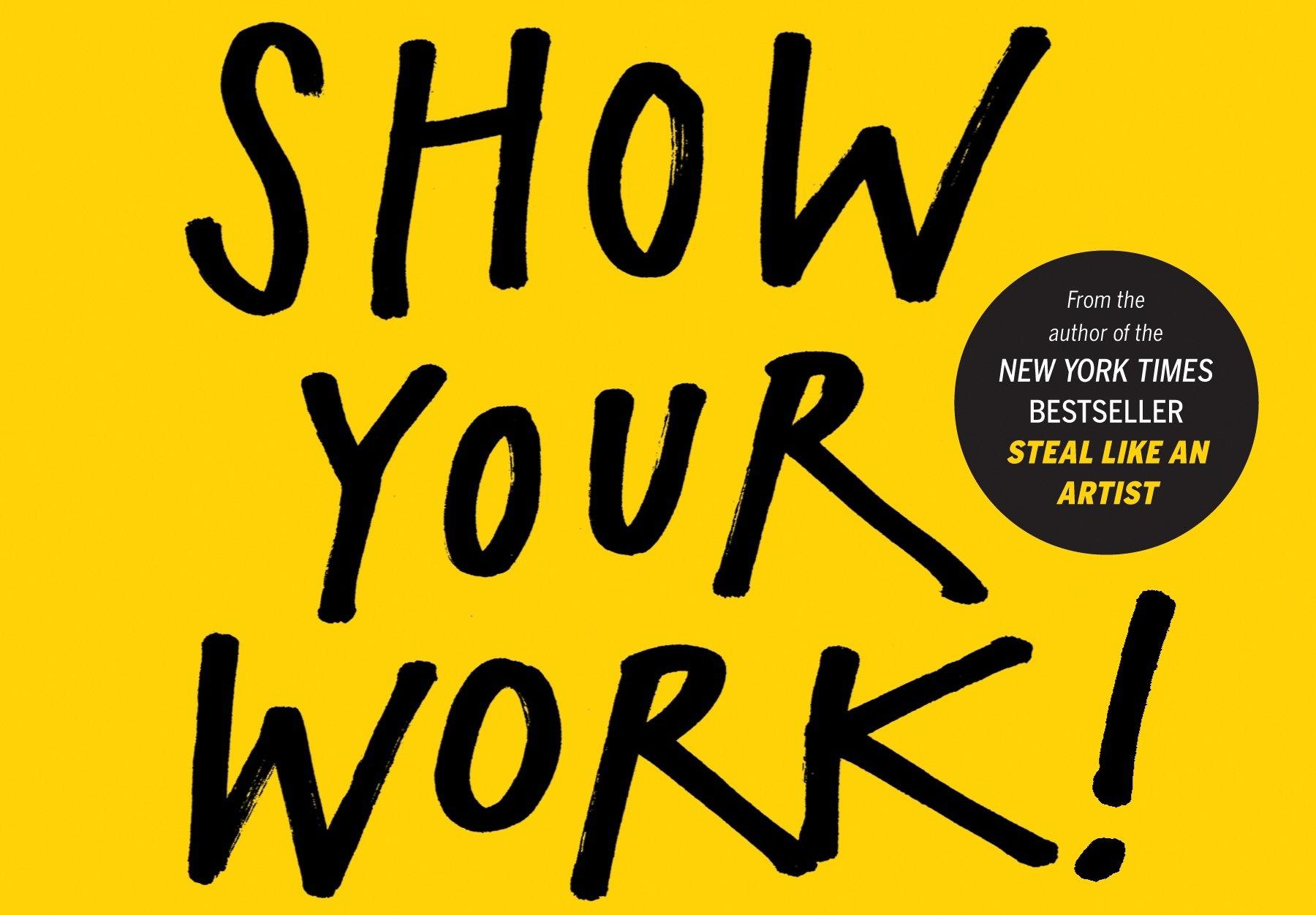 Illustrator books: Show Your Work