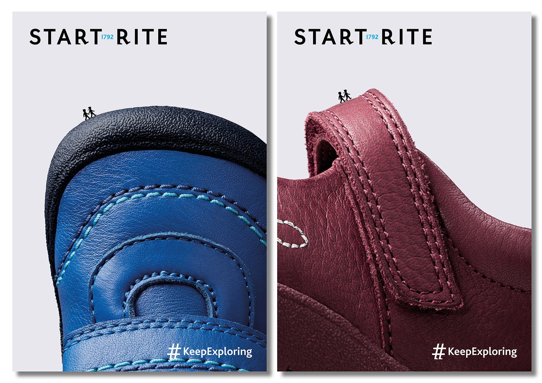 Start-rite Shoes rebrand, by Studio Sutherl&