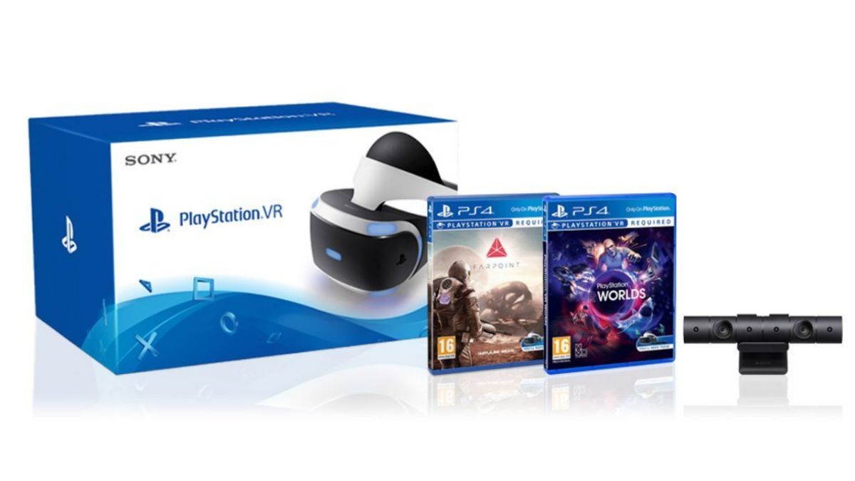 Get a PS VR headset, camera, Farpoint and VR Worlds for only £339.99 in the Amazon Prime sale