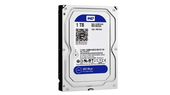 The WD Blue 1TB