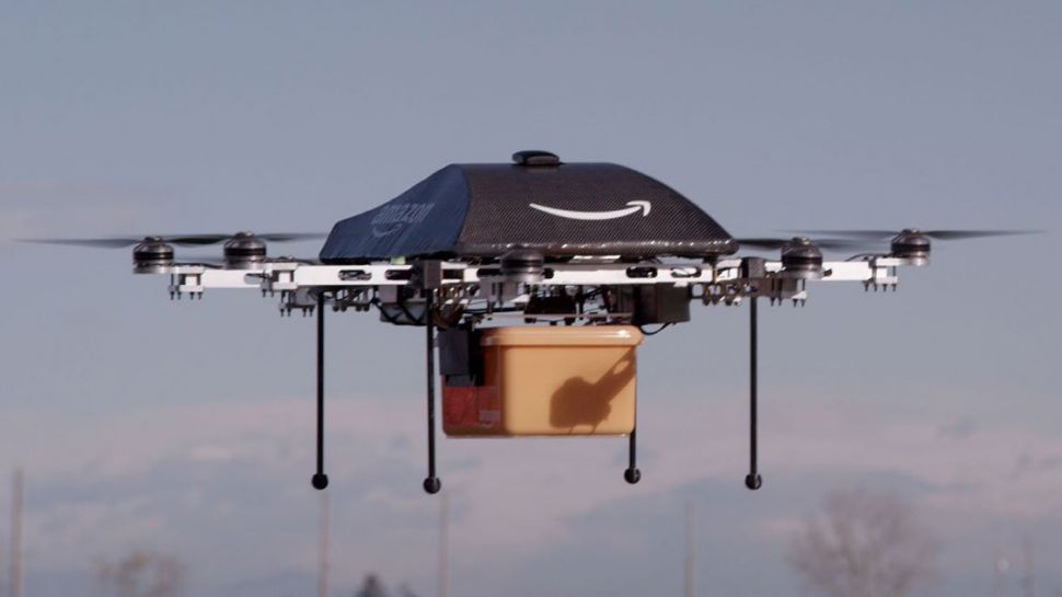 Amazon wins patent for drones that can recharge your electric car on the move