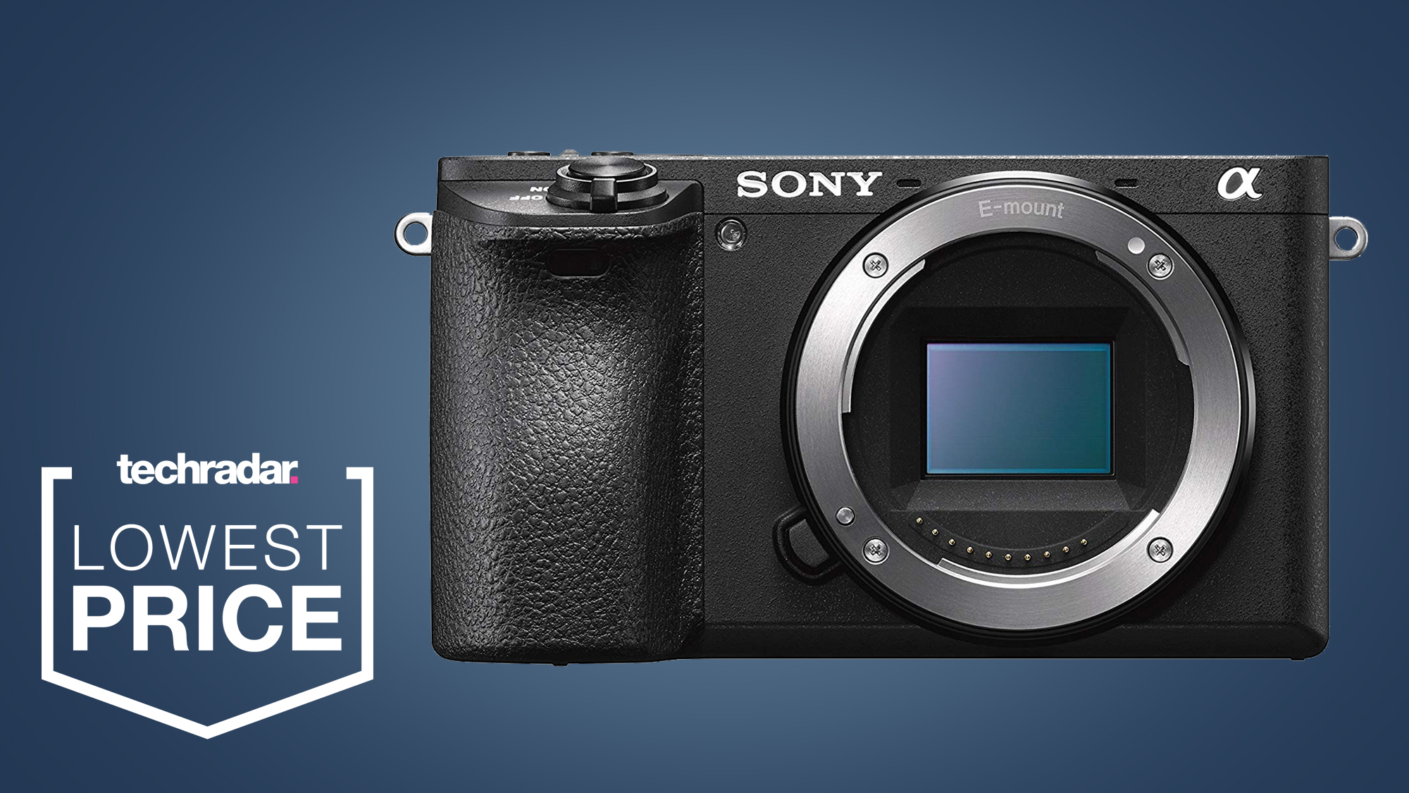 Quick! This Sony A6500 Lightning Deal is Cyber Monday's best camera bargain