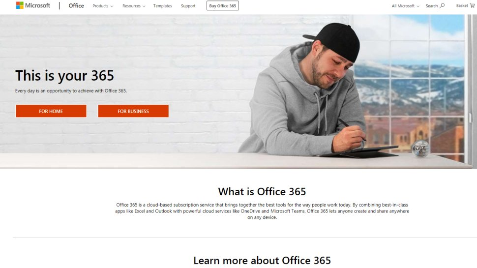 Microsoft Office 365 - productivity software for users who can afford it